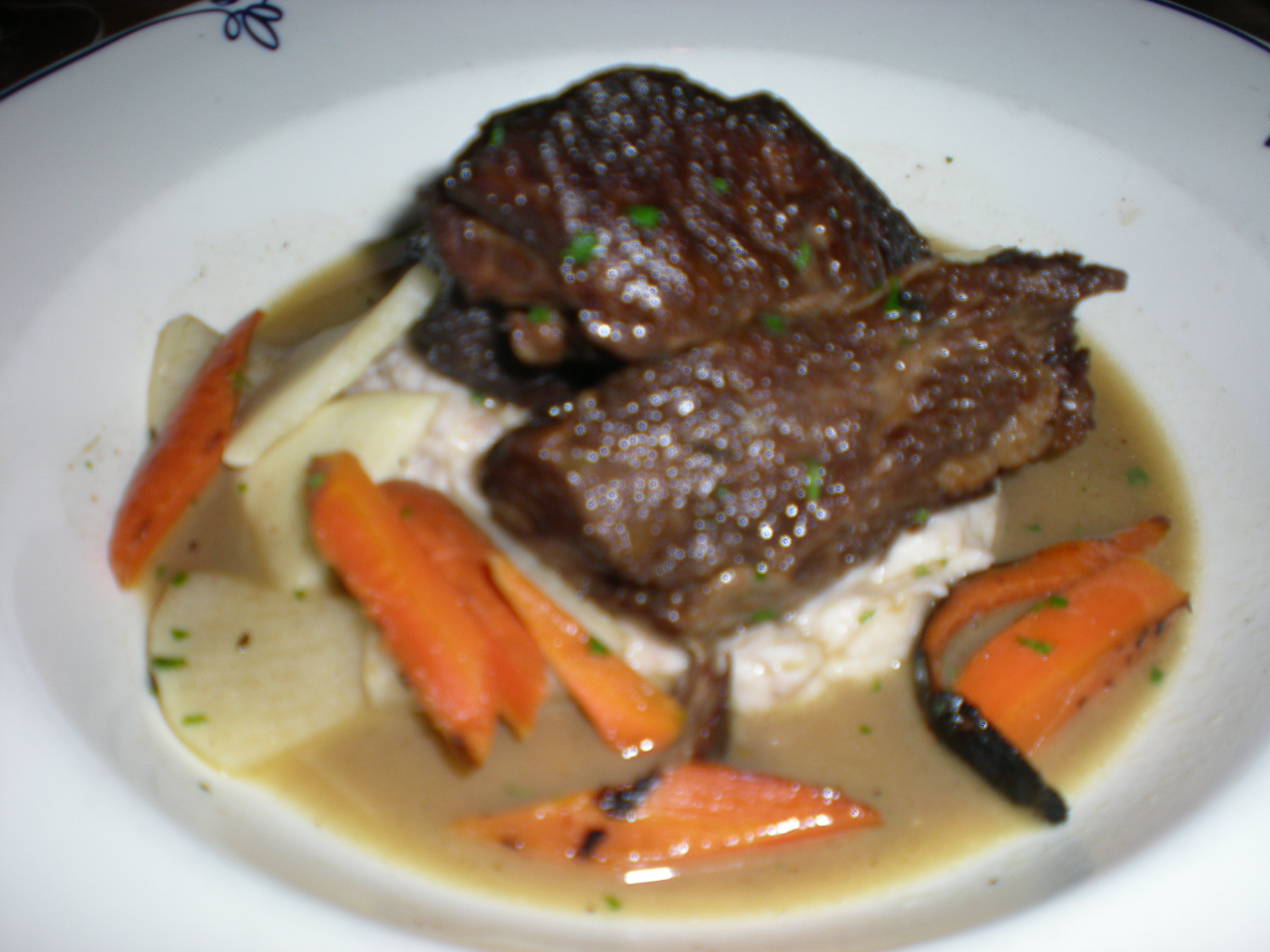 Sepia Braised Beef Short Ribs